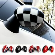 Rearview Mirror Cover Sticker Auto Rear View Decal For Mini Countryman Cooper S