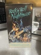 Rock N Roll Nightmare Academy Double Flap Vhs 1987 Horror Sealed New Grade It