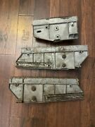 1969 Mustang Shelby Mach 1 Window Brackets With Guides Glue In Glass