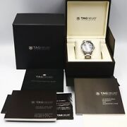 Tag Heuer Carrera War211f Black Shell Mother Of Pearl Japan Limited 500 Used