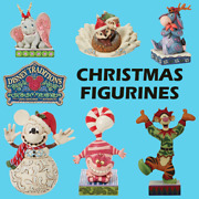 Range Of Disney Traditions Christmas Figurines Decorations Ornaments New Boxed
