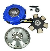 Fx Stage 4 Clutch Kit Andflywheel For 96-04 Mustang 4.6l 11 Tremec T56 Trans Swap