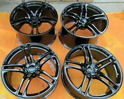 19 New Oem Original Factory Audi R8 Black Forged Light Wheels Made In Germany