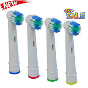 4/8 Pcs Electric Toothbrush Heads Compatible With Oral B Braun Replacement Head