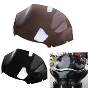 13and039and039 Wave Windshield Windscreen Fit For Harley Road Glide Cvo Ultra Fltrx 14-20