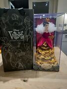 Disney Villains Limited Edition Queen Of Hearts Doll 1 Of 13000