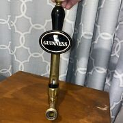 """Guinness Beer Tap Handle 13"""" Tall Irish Beer Stout Draught Collectible"""