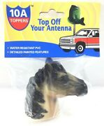 Vintage Rivers Edge 10a Horse Head Car Antenna Topper Water Resistant Pvc 2001