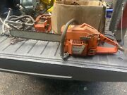 Used Husqvarna Vintage Chainsaw 257257xp Runsmore Husky Parts And Saws Listed