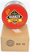 Vintage 1983 Pure Quaker Oats Canister Limited Metal Tin. Original Box