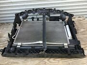 14-17 Infiniti Qx60 Lot Of Radiator And Condenser And Fan And Support Complete Oem E P