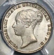 1842 Pcgs Ms 64 Victoria 6 Pence Great Britain Silver Sterling Coin 21092301d