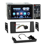 Concept Dvd Usb Mp3 Bluetooth Stereo Dash Kit Harness For 1997+ Bmw 5 Series