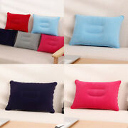 Inflatable Sleeping Portable Pillow Travel Air Cushion Camping Outdoor Head Rest