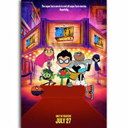 250327 Teen Titans Go To The 2018 Hot Comic Series Movies Poster Print