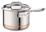 All-clad 6202 Ss Copper Core 5-ply Bonded Dishwasher Safe Saucepan / Cookware, 2