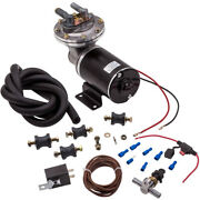 12 Volt 18 To 22 Electric Vacuum Pump Kit Fit For Brake Booster System