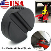 Rubber Jack Pad Disk Jacking Stands Slotted Rail Adapter For Vw Skoda Audi Seat
