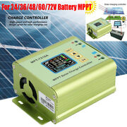 Solar Charge Controller With Lcd Mppt Solar Panel Battery Charge 24/36/48/60/72v