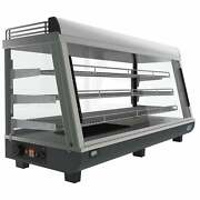 48-inch Self Service Commercial Countertop Food Warmer Black N/a