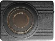 10 Ultra Thin Subwoofer Car Active Audio Speaker Amplifier Base Automatic