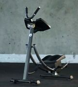 Abcoaster Cs1500 Light Commercial 1 Selling Abdominal Machine Cyc Fitness New