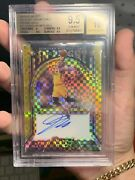 Donovan Mitchell 2019-20 Select In Flight Signatures Prizm Gold Bgs 9.5 Pop 1