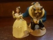 Vintage Disney Beauty And The Beast Belle And The Beast Figurines Free Uk Post
