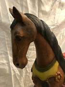 Antique Original Carousel Horse Merry Go Round Hand Carved And Painted