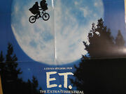E.t. The Extra Terrestrial Video Store Promo Poster Pepsi Special Olympics Vhs