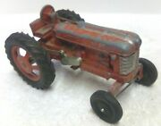 Vintage 1/12 1950s Hubley Farmall M Wide Front Tractor Farm Toy