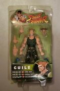 2005 Sota Street Fighter Round 3 - Guile Action Figure Nib