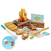 Melissa And Doug Letand039s Explore Sand039mores And More Campfire Play Set