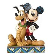 Disney Tradition Jim Shore Mickey Mouse And Pluto Disney Figure 6inch Toy