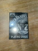 Jack Daniels Playing Cards Sealed New Poker Whiskey Made In Usa 2008 12 Total