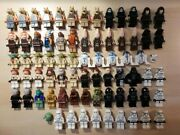 Lego Star Wars Jedi Sith Trooper Droid Lot 74 Figures In Good Condition