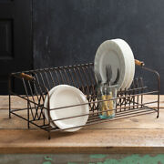 Large Antique Brass Plate Drying -storage Rack