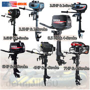 Outboard Motor 3.5 Hp-7 Hp 2/4 Stroke Heavy Duty Boat Engine Air/water Cooled Ce