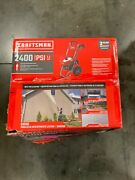 Craftsman 2400 Psi Cold Water Electric Pressure Washer