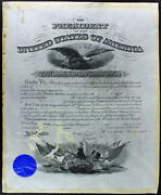 Theodore Roosevelt And William Howard Taft Signed 15x20 1904 Document Bas Ab14025