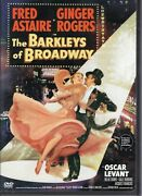 Warner Bros Dvd The Barkleys Of Broadway Fred Astaire And Ginger Rogers Like New