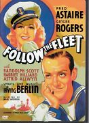 Warner Bros Dvd Follow The Fleet Fred Astaire And Ginger Rogers Like New
