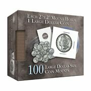 Whitman Publishing Cor-large Dollar Size Coin Mount Book New