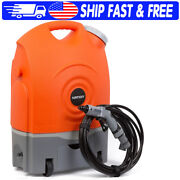 Portable Electric Pressure Washer, Rechargeable 60-watt, Battery And 12v Car Plug