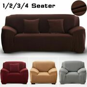 Elastic Sofa Cover Spandex Modern Polyester Chaise Cover Furniture Slipcovers