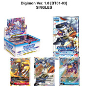 Digimon Card Game Bt01-03 Release Special Booster Ver. 1.0 Single Cards English