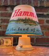 1950s Hamm's Beer Advertising Rotating Motion Heat Lamp/sign-ex