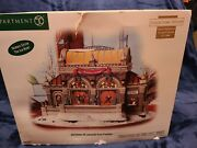 2007 Dept 56 Cic Christmas In The City Christmas At Lakeside Park Pavilion 59267