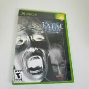 Fatal Frame Complete Xbox