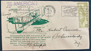 1934 St Petersburg Fl Usa First Commercial Air Flight Cover To Schenectady Ny